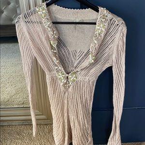 VS swim coverup lightweight knit